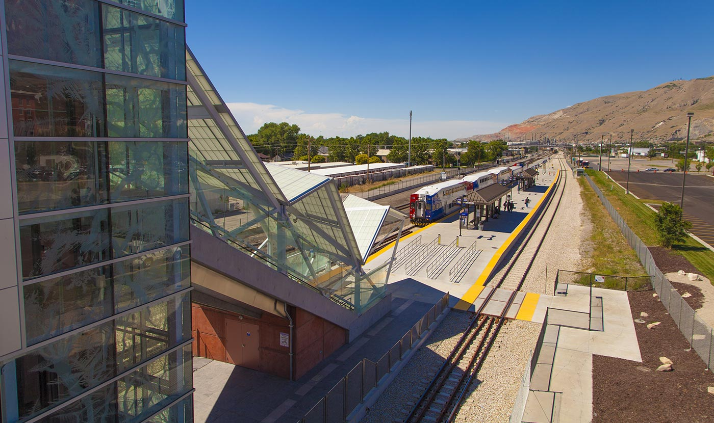 North Temple Trax Station